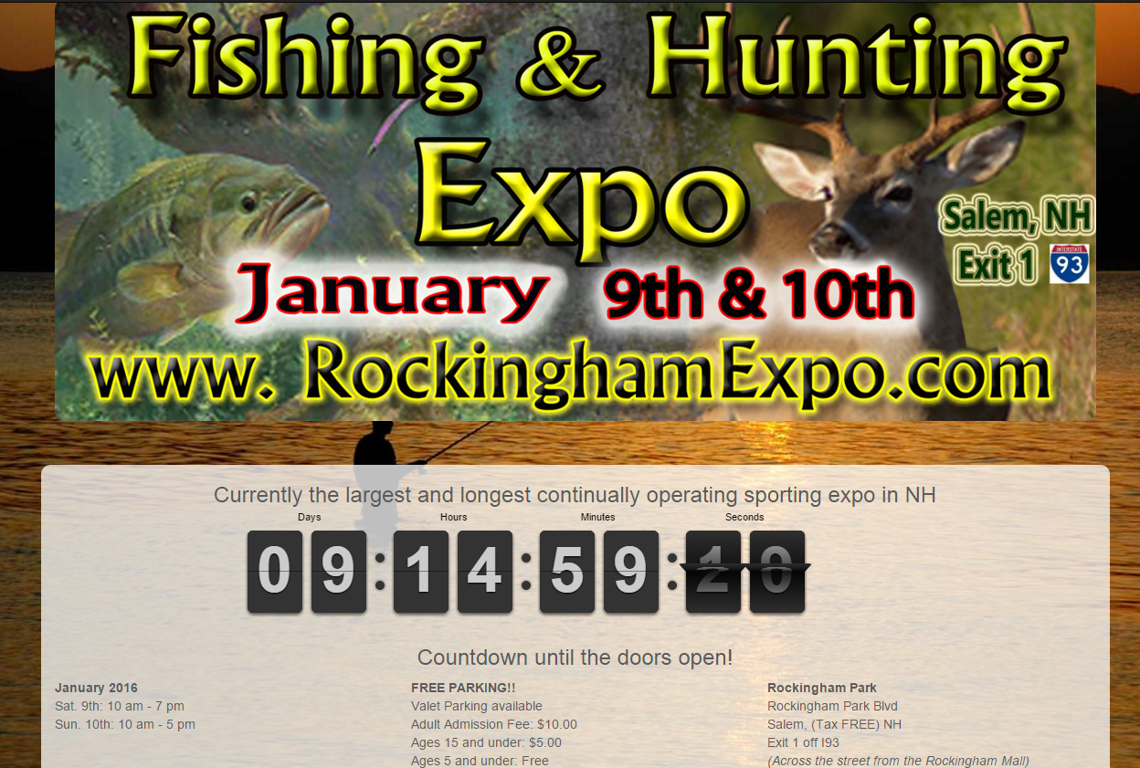 new hampshire hunting and fishing expo